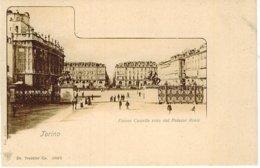 TORINO PIAZZA CASTELLO DA PALAZZO REALE TRENKLER - Palazzo Reale