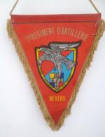 FANION 7° RA REGIMENT D' ARTILLERIE NEVERS - Fabricant ORIFLAM - Flags