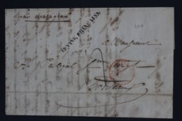 Guyane Letter 1846 -> Bordeaux - Guyane Française (1886-1949)