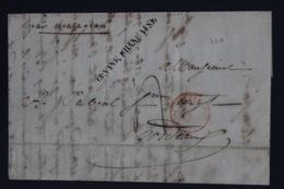 Guyane Letter 1846 -> Bordeaux - Covers & Documents