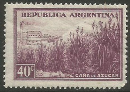Argentina - 1946 Sugar Cane 40c MNH **     Sc 534 - Argentina