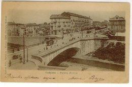TORINO PONTE MOSCA ELIOTIPIA MOLFESE - Bridges