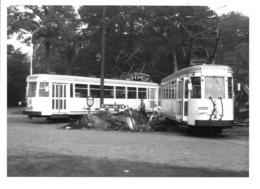 Brasschaat  Polygoon - Trams (Foto 1966). - Brasschaat