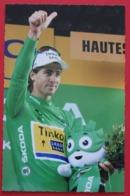 Cyclisme : Tour De France   Peter Sagan  , Maillot Vert - Cyclisme