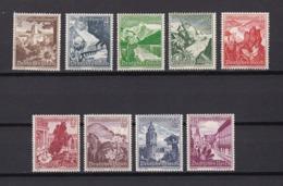 Deutsches Reich - 1938  - Michel Nr. 675/683 - Ungebr./Postfrisch - 80 Euro - Deutschland
