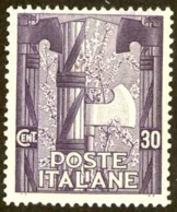 Italy Sc# 160 MH 1923 30c Emblem Of The New Government - Mint/hinged
