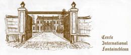 Cercle International FONTAINEBLEAU (77) - Tarjetas De Visita