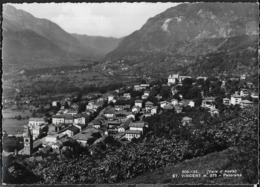VALLE D'AOSTA - ST. VINCENT - PANORAMA - FOTOEDIZ. BRUNNER COMO - VIAGGIATA 1956 - Italia