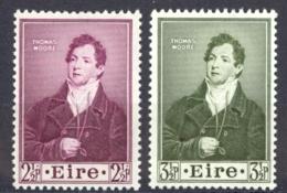Ireland Sc# 145-146 MNH 1952 Thomas Moore - 1949-... Republic Of Ireland