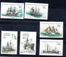 AAT Australian Antarctic Territory Ships MNH - Nuevos