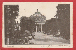 CPA: Roumanie - Bucuresti - Atheneul - Roumanie