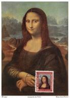1952 - Carte Maximum - N°151280 - Allemagne - Leonardo Da Vinci : Mona Lisa - Cachet - Monn - Germany