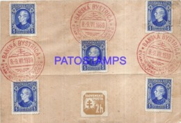 119893 SLOVENIA BANSKA BYSTRICA FRENTE YEAR 1939 MULTI STAMPS NO POSTCARD - Slovenia