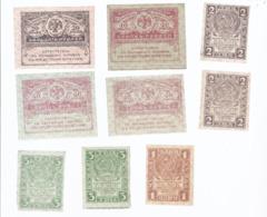 AK-div.28- 255 -  Kleinscheine Lot - Nicht  Indentifiziert  - 9 Scheine - Bankbiljetten