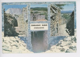 Zimbabwe Ruins (cp Vierge Avec Descriptif) - Zimbabwe