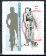 ITALIA / ITALY 2019 - Fausto Coppi - 1 Val MNH, Autoadesivo, Come Da Scansione. - Cyclisme
