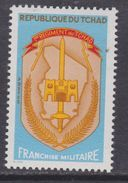Tchad F. M.  N° 3  XX Franchise Militaire Sans Valeur Multicolore, Sans Charnière, TB - Tschad (1960-...)
