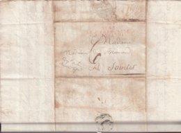 """FRANCE : MARQUE POSTALE . """" N° 42 ARM FRANCAISE EN ESPAGNE  """" . EN ROUGE  . B . 1811 . - Marcophilie (Lettres)"""