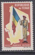 Tchad F. M.  N° 2 XX Franchise Militaire Sans Valeur Polychrome, Sans Charnière, TB - Tschad (1960-...)