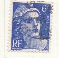 "PIA - FRA - 1945-47 : Uso Corrente - ""Marianna"" Di Gandon  - (Yv 720) - Francia"