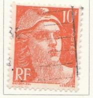 "PIA - FRA - 1945-47 : Uso Corrente - ""Marianna"" Di Gandon  - (Yv 722) - France"