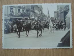 CP PHOTO COLMAR 68 DEFILE PHOTO DU 15 SEPTEMBRE 1935 - Colmar