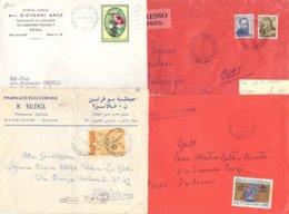 Lotto 10 4 Lettere Con Commemorativi  Anni 60  026 - 6. 1946-.. Repubblica