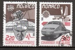 Monaco  Europa Cept 1988 Gestempeld  Fine Used - Europa-CEPT