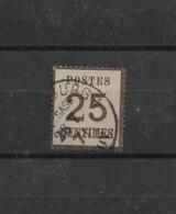 Elsass-Lothringen:Mi.Nr. 7.I. Gestempelt Strassburg - Norddeutscher Postbezirk