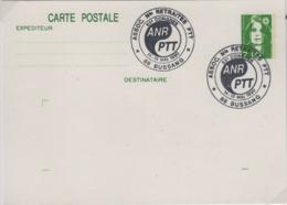 BUSSANG 15 16 Mai 1990 (Vosges), Oblitération Temporaire Retraites ANR PTT - Marcophilie (Lettres)