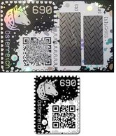 AUTRICHE Crypto Stamp Post 2019 Adhésif - Timbre Numérique Blockchain - Version Noir - Rare Neuf ** MNH - 2011-... Nuevos & Fijasellos