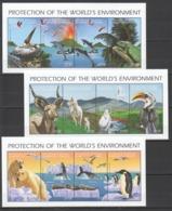Y253 1992 COMOROS COMORES FAUNA ANIMALS PROTECTION ENVIRONMENT #1655-66 !!! MICHEL 24 EURO !!! 3KB MNH - Stamps