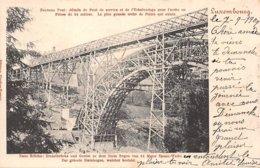 Luxembourg - N°60916 - Nouveau Pont : Détails Du Pont De Service Et De L'échafaudage ... Qui Existe - Luxemburg - Town