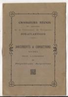 Livre DOCUMENTS & CONDITIONS Exiges Pour L'admission En Republique Argentine - COMPANIE DE NAVIGATION SUD-ATLANTIQUE - Boats
