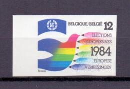 2133 Europese Verkiezingen ONGETAND   POSTFRIS** 1984 - Belgique