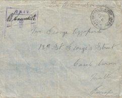 Malta 1940 FPO 245 (Egypt) 7th British Army Censored No. 68 OAS Incoming Cover - Malta