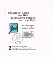 Philatélie Belge Au Rhin.Post 7,FBA/BSD - Bélgica