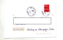 Lettre  Cachet  Arbois Jura - Marcofilia (sobres)