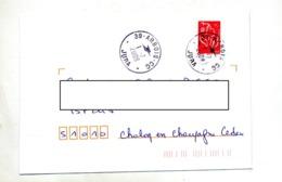 Lettre  Cachet  Arbois Jura - Poststempel (Briefe)