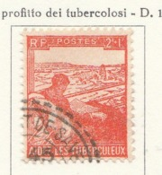 PIA - FRA - 1945 : A Profitto Dei Tubercolotici  - (Yv 736) - Malattie