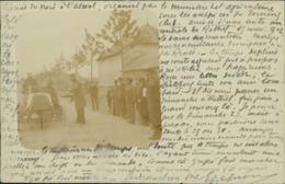 08  RETHEL / Course Automobile Circuit Du Nord 1902 A. Wilmet Photo Rethel / BELLE CARTE PHOTO RARE - Rethel