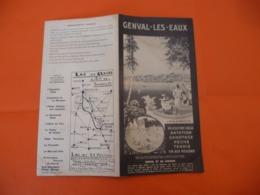 Genval Les Eaux (  Natation Canotage Pêche Equitation Tennis  Tir Aux Pigeons - Tourism Brochures