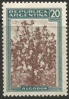Argentina - 1946 Cotton 20p MH *     Sc 540 - Argentina