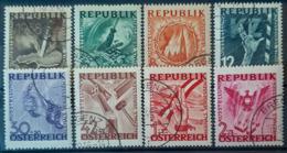 AUSTRIA 1946 - Canceled - ANK 784-791 - Antifa - 1945-.... 2ème République
