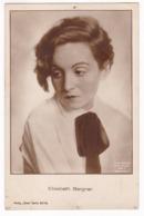 CP1133 Elisabeth Bergner Film Actress Actrice De Cinéma Carte Postale 1927 - Actores