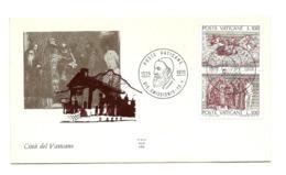 1976 - Vaticano 593/94 Morte Di Tiziano Vecellio     FDC - Celebrità