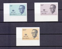 2022/24 KONING BOUDEWIJN MET BRIL ONGETAND POSTFRIS**  1981 CAT:100 Euro - Belgium