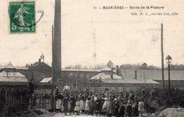 MASNIERES (59) Sortie De La Filature - Autres Communes