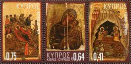CHYPRE Noël 2014 3v  Neuf ** MNH - Chypre (République)