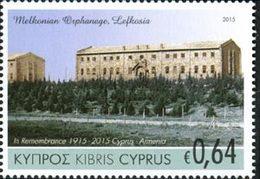 CHYPRE Cent.Commémor.Arménie 1v 2015 Neuf ** MNH - Cyprus (Republiek)